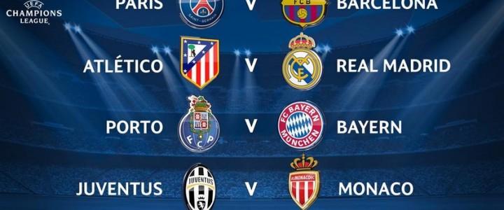 Cuartos de final Champions League y UEFA Europa League ...