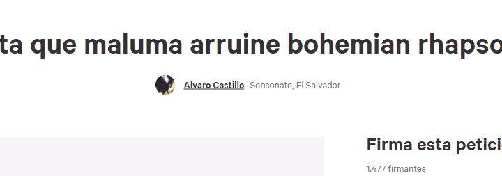 Maluma quiere hacer un cover de 'Bohemian Rhapsody' de Queen y ud