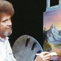 Foto: www.facebook.com/The-Joy-of-Painting-with-Bob-Ross-150008825045842/