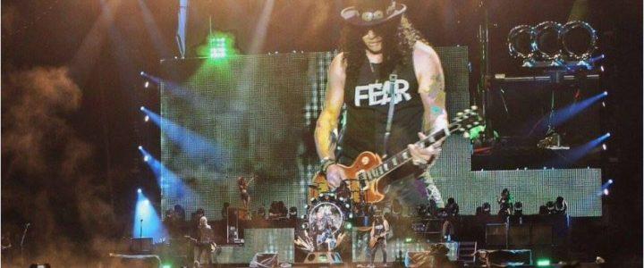 [Video] ¿Fenómeno paranormal en concierto de Guns N' Roses?
