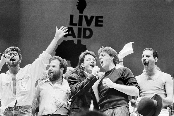 Live Aid, London 1985