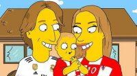 ¡De pelos! Los futbolistas más famosos del mundo en versión Simpson