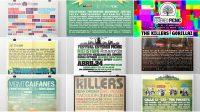 ¿Y para usted cuál de estos carteles ha sido el mejor en la historia del FEP?