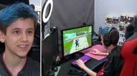 Niño de 14 años se vuelve millonario por jugar videojuego