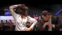 Revelan video de Quentin Tarantino bailando en detrás de cámaras de Pulp Fiction