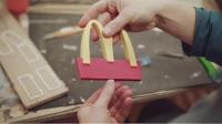 McDonald's construyó su local más pequeño del mundo… para las abejas