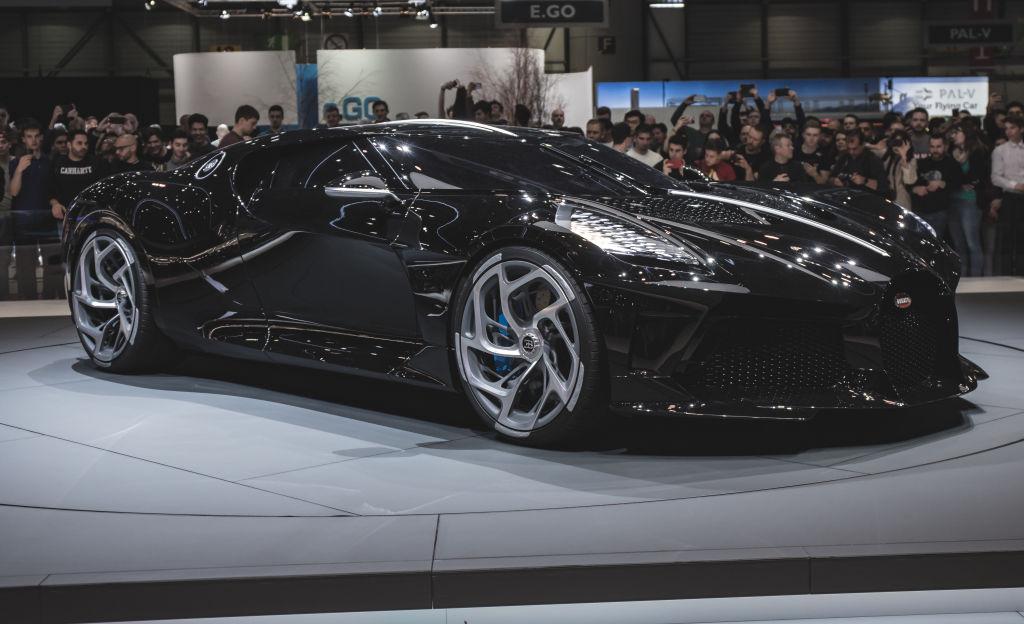 The Bugatti La Voiture Noire