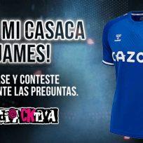 ¿Quiere ganarse la casaca del Everton de James Rodríguez?