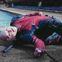 El Deadpool de la vida real que se levantó de las cenizas