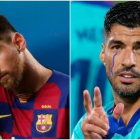 """Messi se despide de Suárez con emotivo mensaje: """"No merecías que te echaran así"""""""