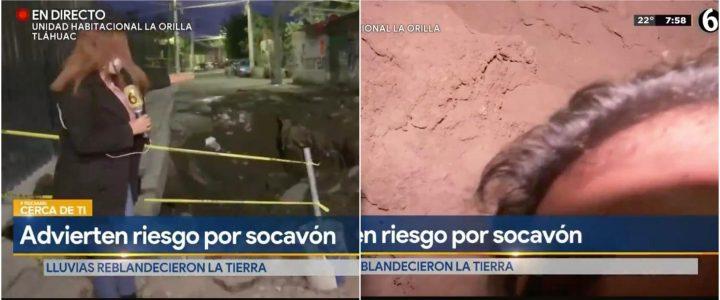 Video: camarógrafo se accidentó en plena transmisión en vivo