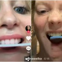Limarse los dientes: el peligroso nuevo reto de TikTok