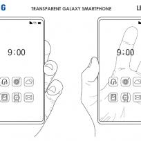 ¿Pantalla transparente? Samsung patenta un teléfono con esta tecnología