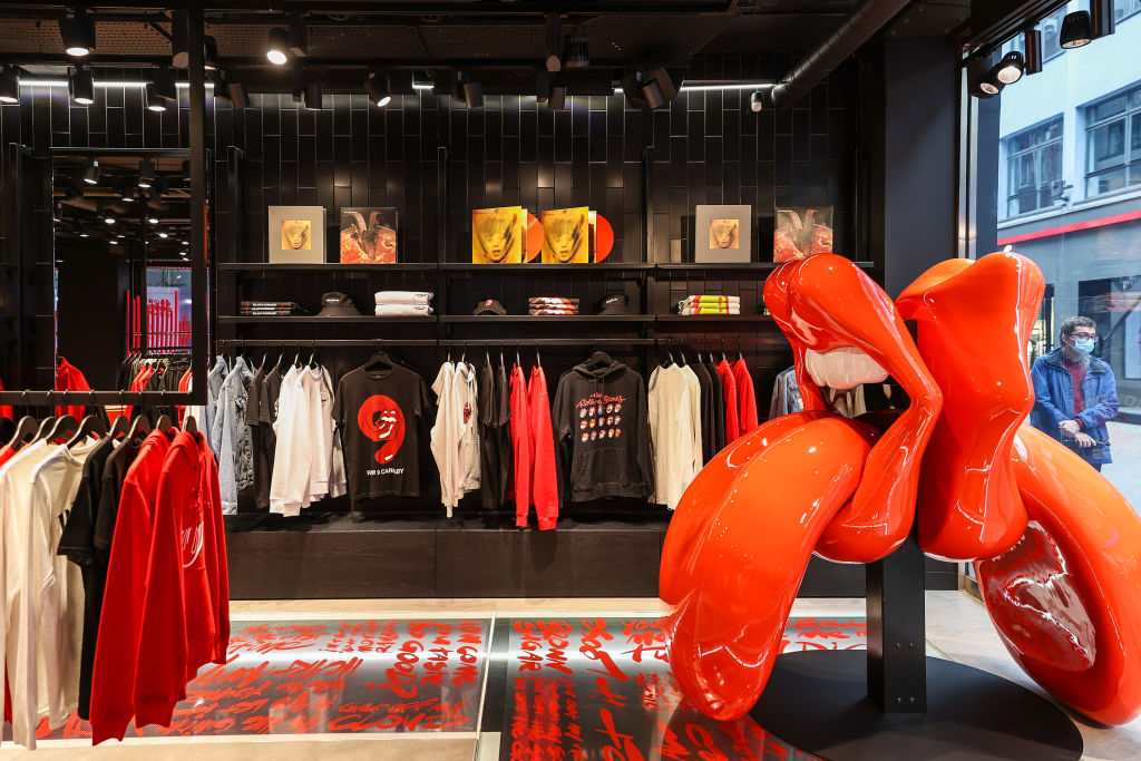 The Rolling Stones Global Flagship Store Launch - Preview