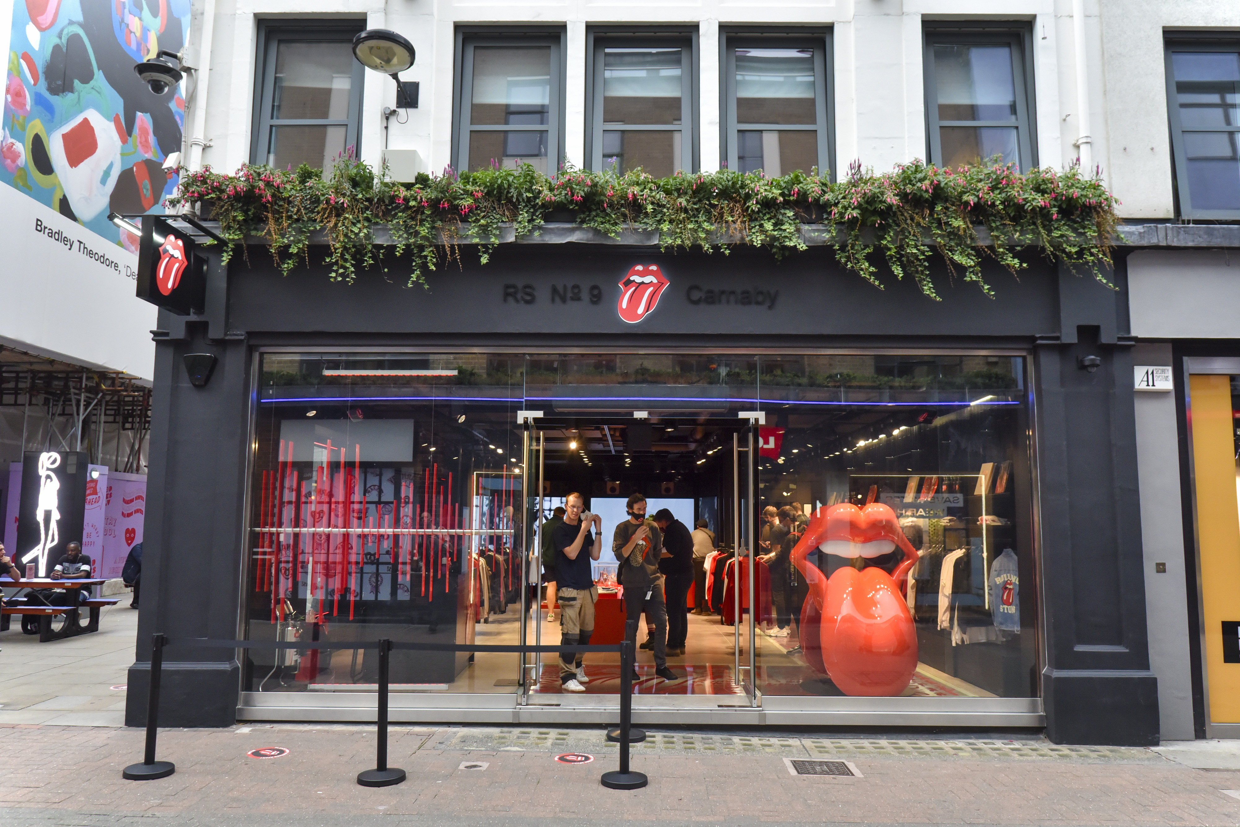 The worlds first permanent Rolling Stones store has