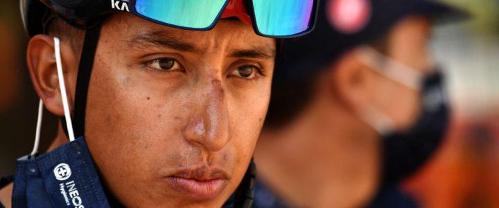 Se bajó del bus: Egan Bernal se retira del Tour de Francia
