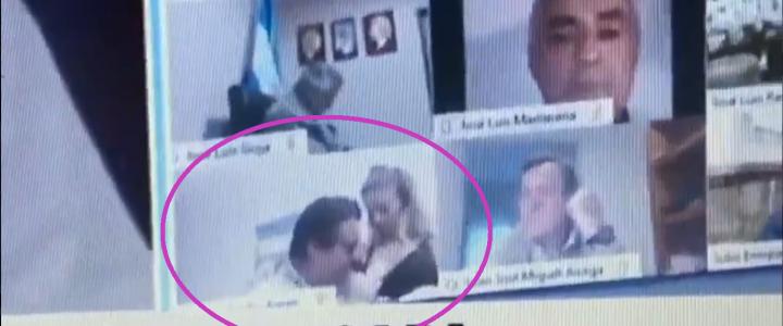 No respetan: diputado protagonizó escena sexual en plena sesión virtual