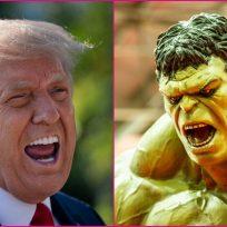 Video: 'Hulk' destruye la estrella de la fama de Donald Trump