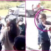 Video: mujer golpea al alcalde de su ciudad por no cumplir lo que prometió
