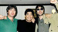 (Fotos) Los momentos de Diego Maradona junto a reconocidos íconos musicales