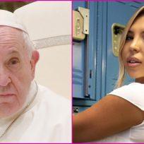 Modelo afirma que recibió un like de la cuenta del papa Francisco en una provocativa foto