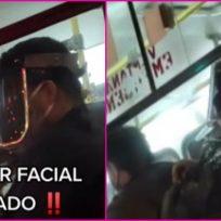 ¿Moda pandémica? Protector facial polarizado se vuelve tendencia en TikTok