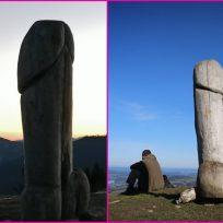 Escultura de un pene gigante desaparece misteriosamente en Alemania