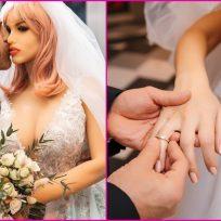 Sujeto se casó con una muñeca de silicona en impresionante boda