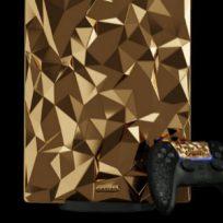Lanzarán PlayStation 5 de oro y piel de cocodrilo que costaría miles de dólares