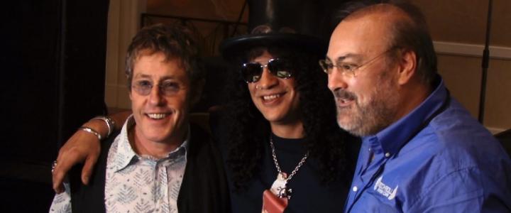 """Slash, Ashley Cooper y Roger Daltrey aparecen en el primer tráiler del documental """"Rock Camp"""""""