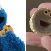 Descubren piedra idéntica al 'Monstruo come galletas' y se vuelve viral
