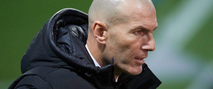Zidane, técnico del Real Madrid, resultó positivo para COVID-19