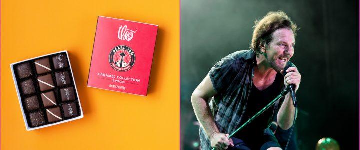 Pearl Jam anuncia su propia caja de chocolates benéfica