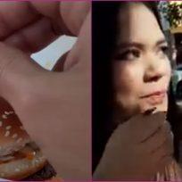 ¿Fail Esconde anillo de matrimonio en hamburguesa y recibe burlas de su novia