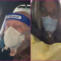 Anthony Hopkins recibió su vacuna COVID-19 y se la aplicó una colombiana