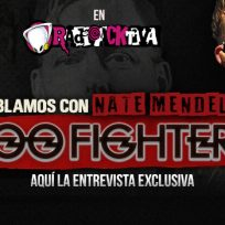 Entrevista: Nate Mendel de Foo Fighters llega a Radioacktiva