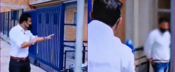 VIDEO: Juan Diego Alvira descubrió a presunto ladrón en pleno informe en vivo