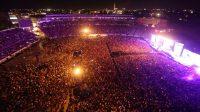 50.000 personas asistieron a un concierto de Six60 en Nueva Zelanda