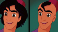 10 galanes de Disney en su versión calva y sin un pelo de parecido a los originales