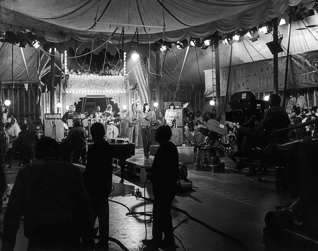 The Rolling Stones At The Rock 'N Roll Circus Show, 1968