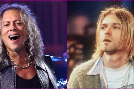 """""""Tuvimos algo que ver con el éxito de Nirvana"""": Kirk Hammett de Metallica"""