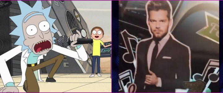 VIDEO: pidió una torta de Rick y Morty y le dieron una de Ricky Martin