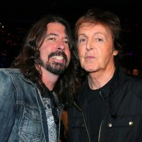 Dave Grohl y Paul McCartney
