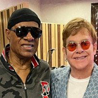 Elton John y Stevie Wonder
