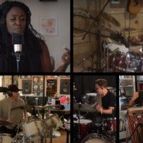 Bateristas como Chad Smith, Nicko McBrain, Ringo Starr se unen y hacen cover de Come Together